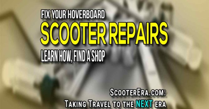 Hoverboard repairs you can do yourself, how to fix common issues